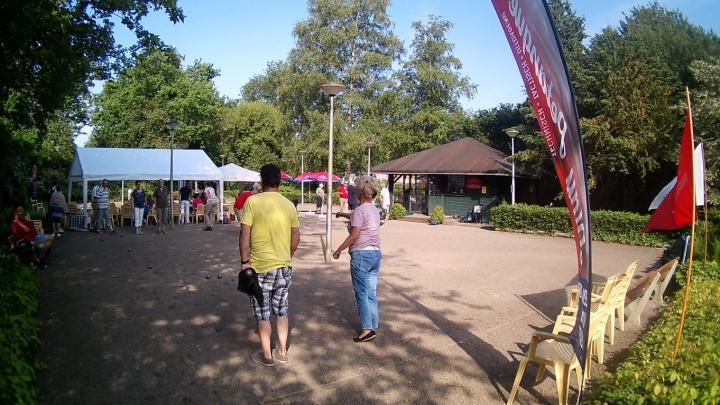 Open petanque-(jeu de boules) toernooi