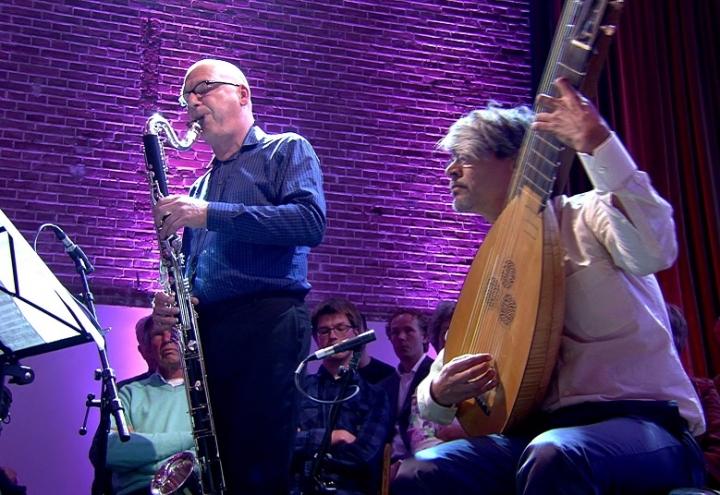 Optreden Mike Fentross & Maarten Ornstein