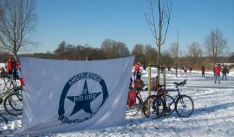 De Poelster slijpt vast de schaatsen: 'strenge winter verwacht'