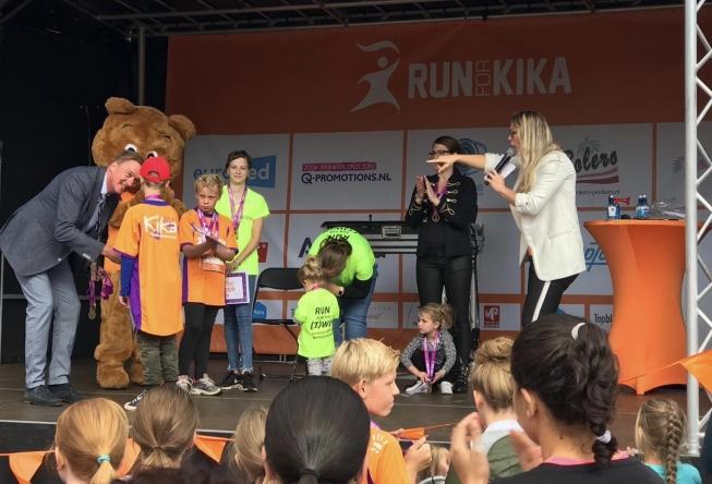 Vierde editie 'Run for KiKa' in het Amsterdamse Bos