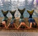 Nieuw: zeemeermin-zwemmen in De Meerkamp
