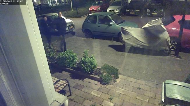 Verdachten van inbraak woning Specht staan op beeld
