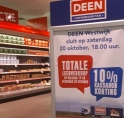 Supermarkt Deen Westwijk wordt Vomar: leegverkoop