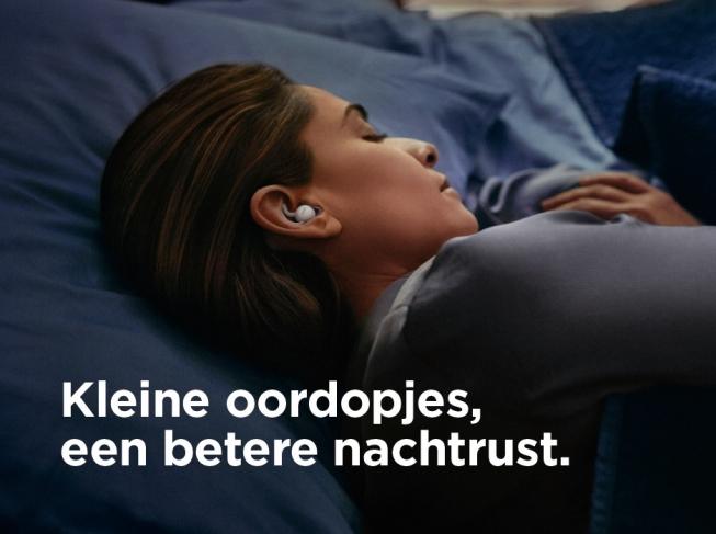 Nu bij Koudijs: Bose noise masking sleepbuds