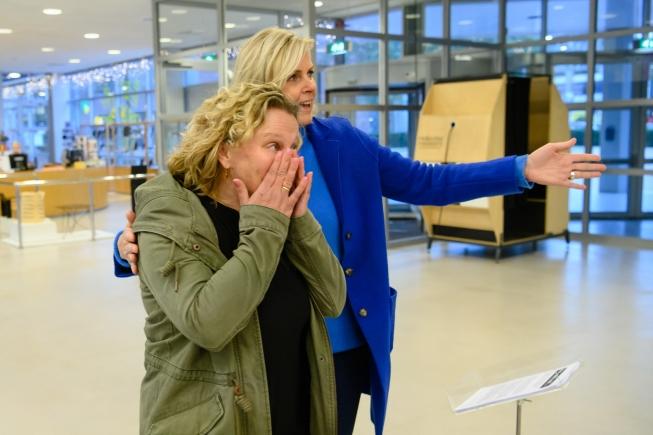 Speciale wens gaat in vervulling in Cobra Museum Amstelveen