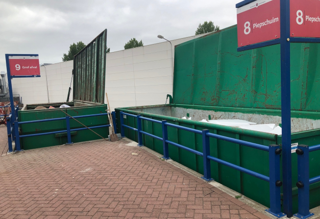 Afvalbrengstation Amstelveen vanaf 1 september ook op zondag open