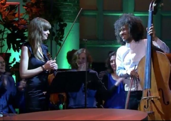 Virtuoze viool & lyrische contrabas