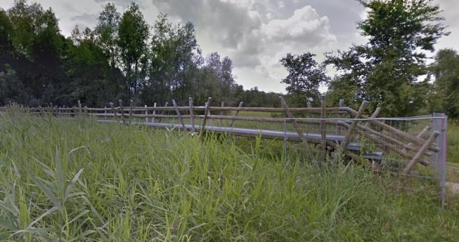 Bamboebrug bij Bloesempark wordt vervangen