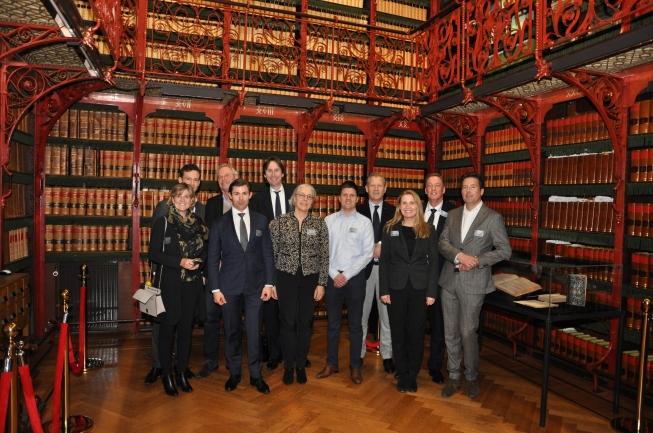 VVD Amstelveen op bezoek in de Tweede Kamer