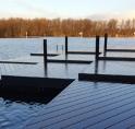 Drijvende steiger meet waterkwaliteit Amsterdamse Bos