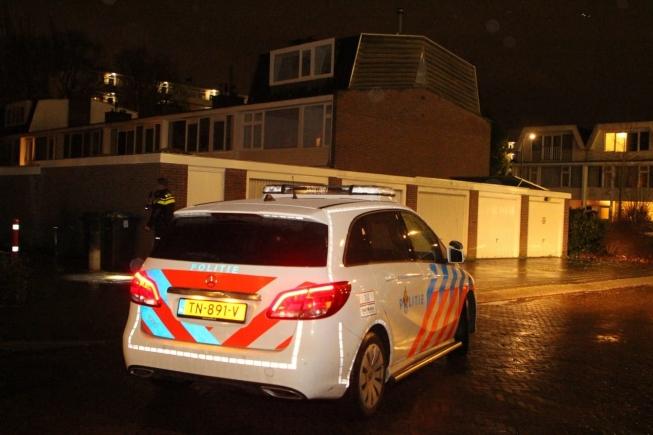 Inbrekers op de vlucht; zoektocht politie
