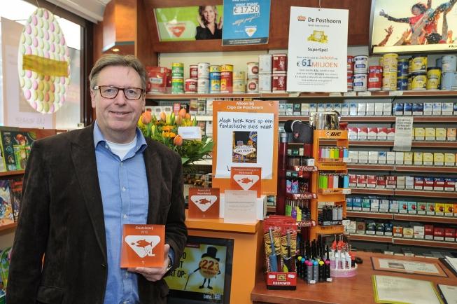 Cigo De Posthoorn in nationale top 3 loterijenverkoop