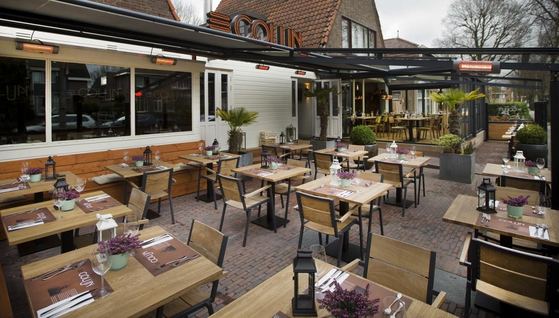 Maak kans op een diner op het nieuwe terras van restaurant colijn amstelveenz - Model van het terras ...