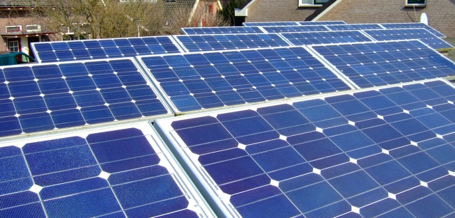 Bijeenkomst over duurzame energie in Westend