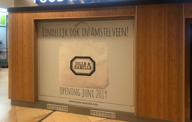 Dille & Kamille gaat winkel openen in Amstelveen