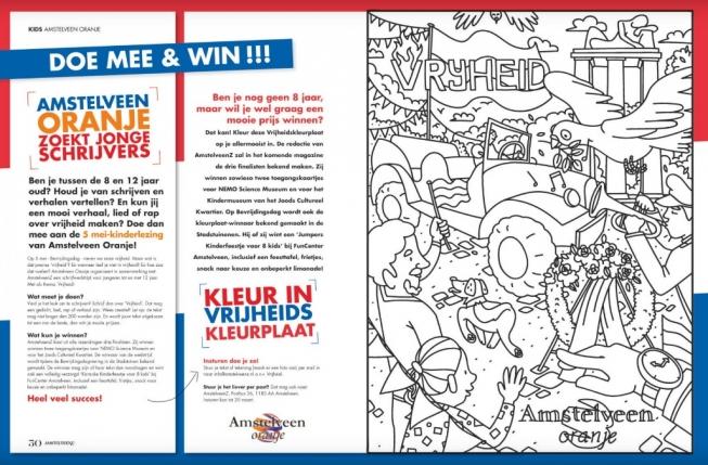 Doe mee & win: kleur of schrijf over vrijheid!
