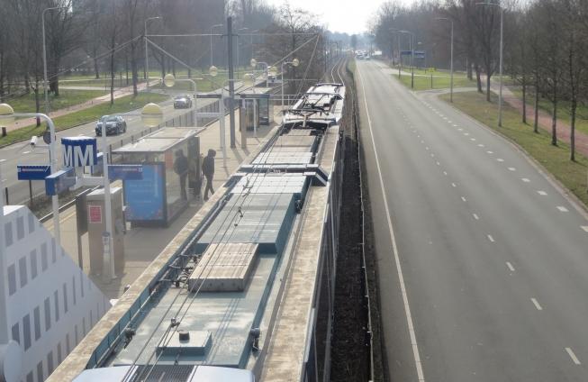 Halte Ouderkerkerlaan wordt gesloopt; Beneluxbaan tijdelijk naar 1 rijstrook