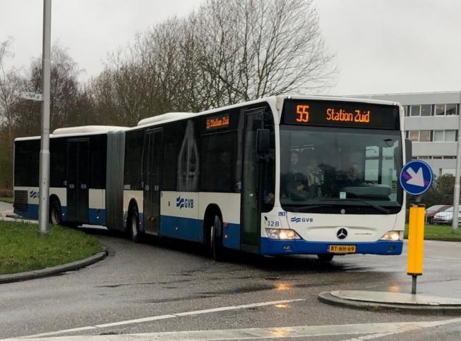 Ook bus 55 rijdt maandagochtend vroeg niet