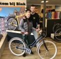 Scholier wint nieuwe Cortina-fiets van BINK via AmstelveenZ Magazine