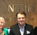 Gordon bezoekt hoofdkantoor Nestlé Nederland in Amstelveen