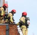 Brandweer rukt uit voor spouwmuurbrand