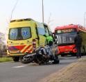 Motorrijder gewond bij ongeval Bovenkerkerweg (N521)