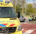 Fietser gewond bij ongeval Van der Hooplaan