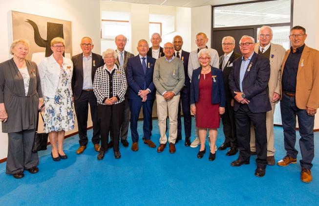 Veertien Amstelveners krijgen lintje