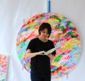 Japanse kunstenares gaat schilderen in Van der Togt Museum