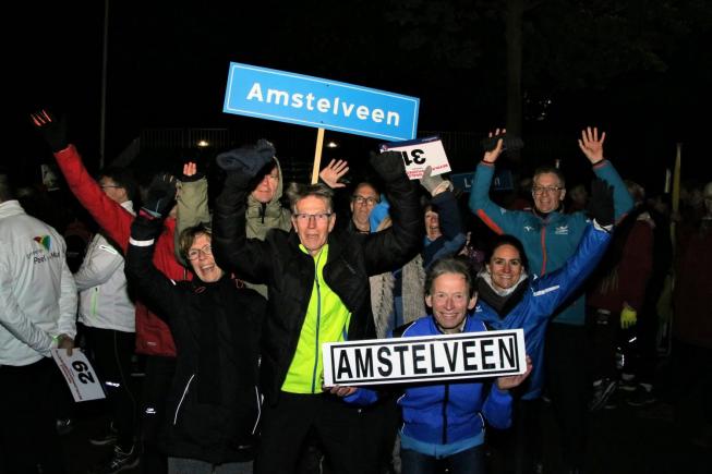 Bevrijdingsvuur onderweg naar Amstelveen