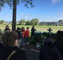 Eervolle herdenking bij monument Anton de Lange
