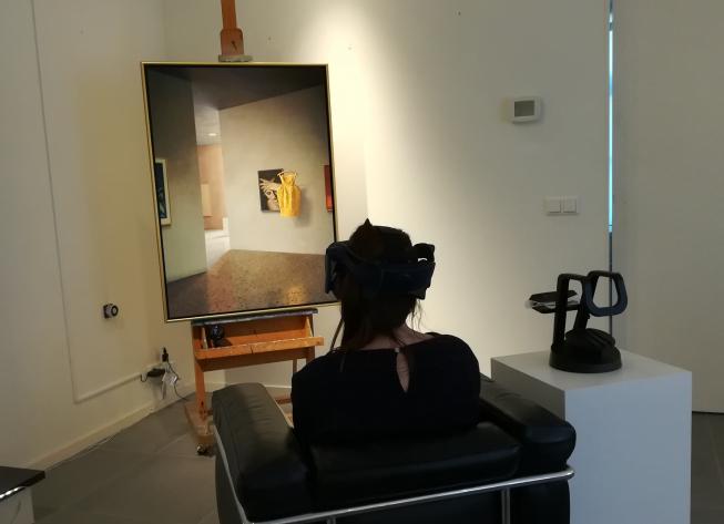 'VR' in Museum Jan van der Togt: 'Stap in een schilderij'