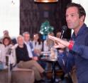 Scheidsrechter Bas Nijhuis steelt de show bij Ondernemersvereniging Amstelveen