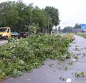 Noodweer houdt huis in Amstelveen