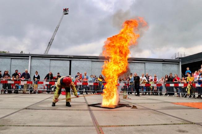 Drukbezochte open dag bij brandweer in Amstelveen