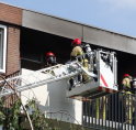 Brand in woning Plesmansingel tijdens 112-storing