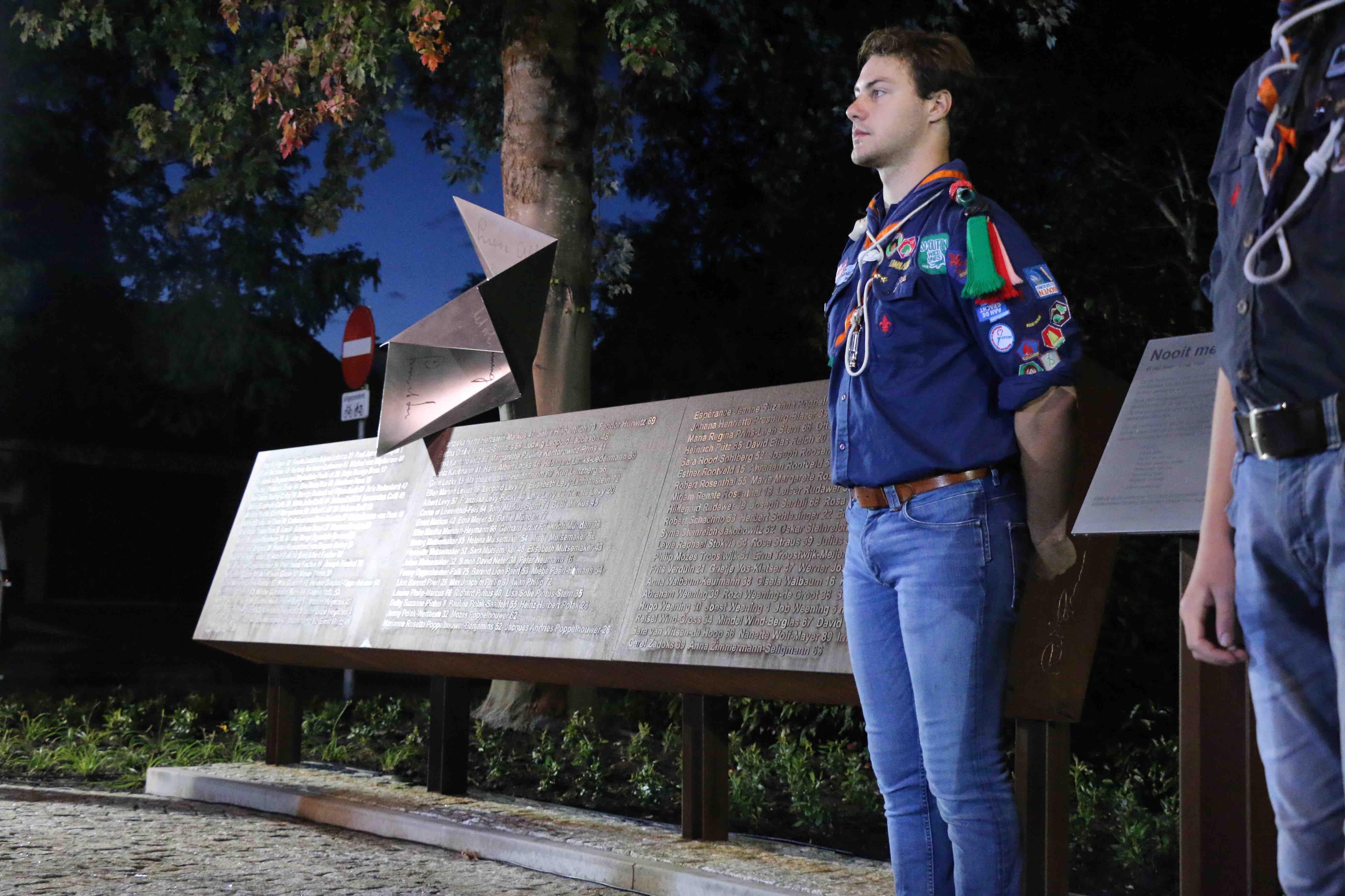 Monument Nooit meer teruggekomen